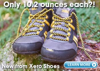 DayLite Hiker - light weight zero drop minimalist hiking boot from Xero Shoes