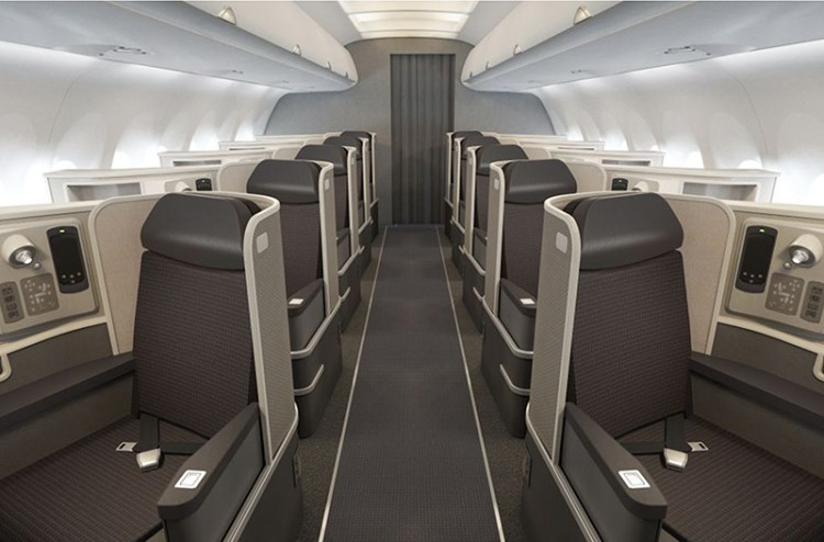 Airbus A321 First Class