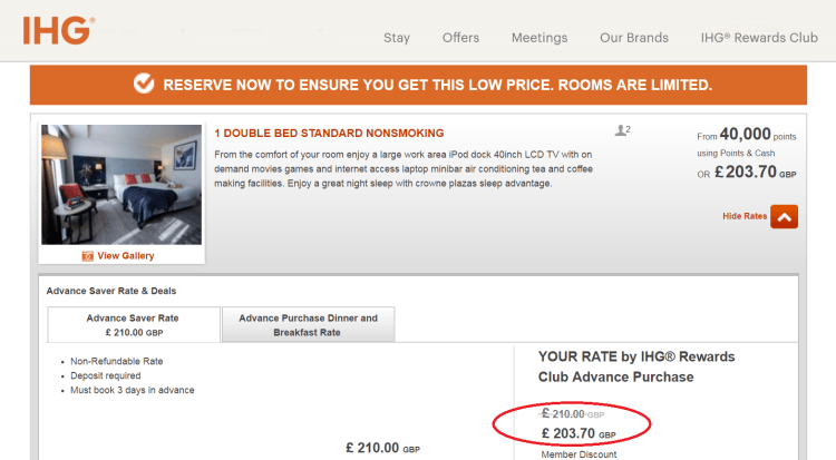 IHG 30% off relaunched 2