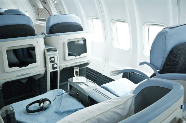 La Compagnie all-business class cabin interior