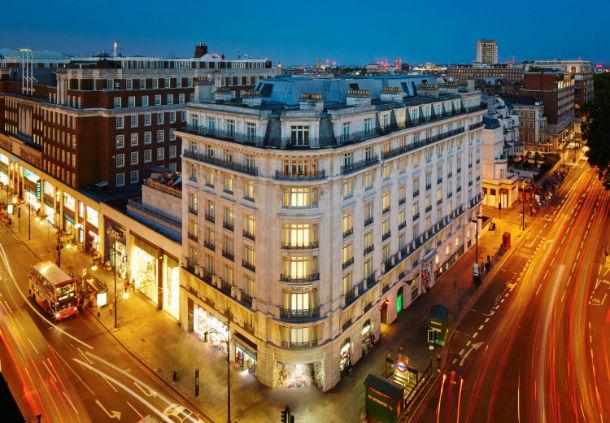 Aerial view of Marriott Park Lane
