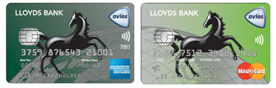 LLoyds Avios Rewards Credit Cards double pack