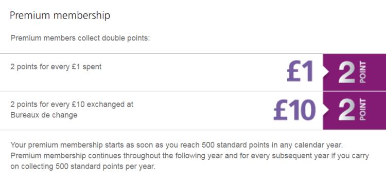 Heathrow Rewards Premium tier membership