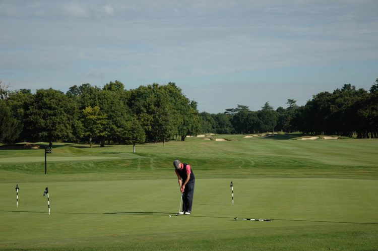 Championship golf course at Stoke Park