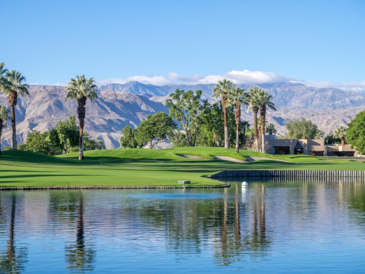Golf course at the JW Marriott Desert Springs Resort & Spa