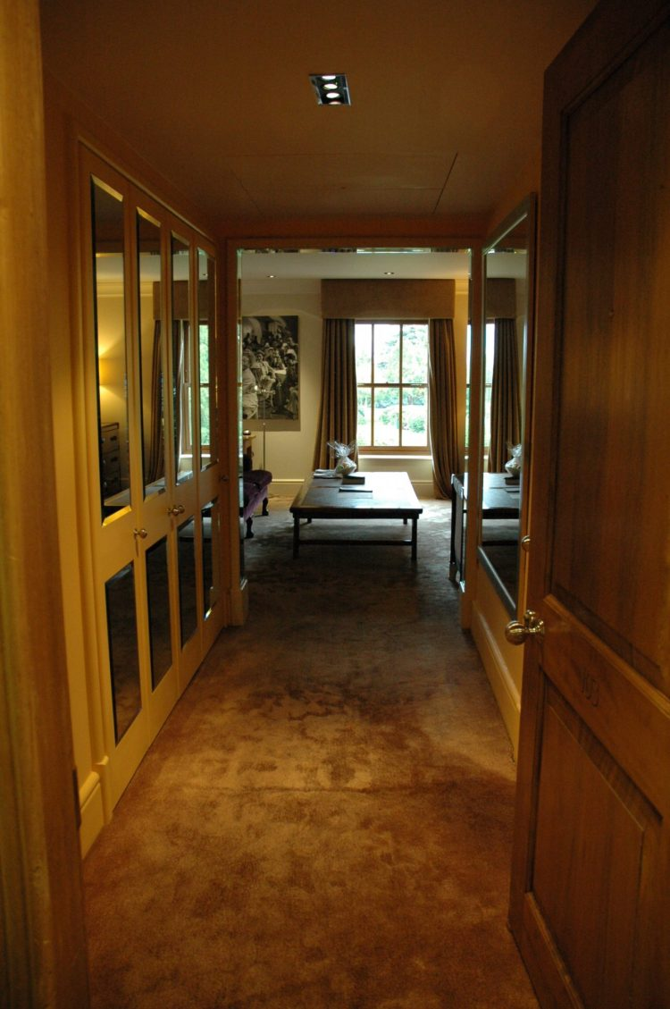 View from entranceway to Room 103