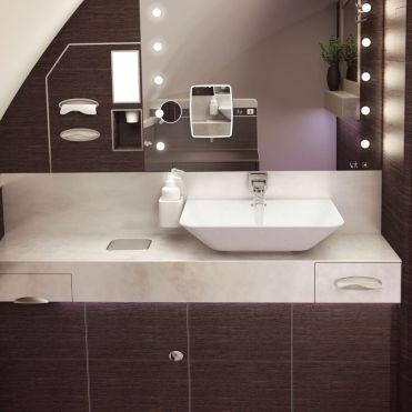 SQ A380 Suites bathroom