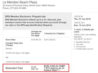 Price WITHOUT MasterCard promo