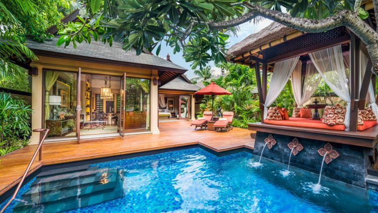 Gardenia-Villa-Private-Pool at the St. Regis Bali