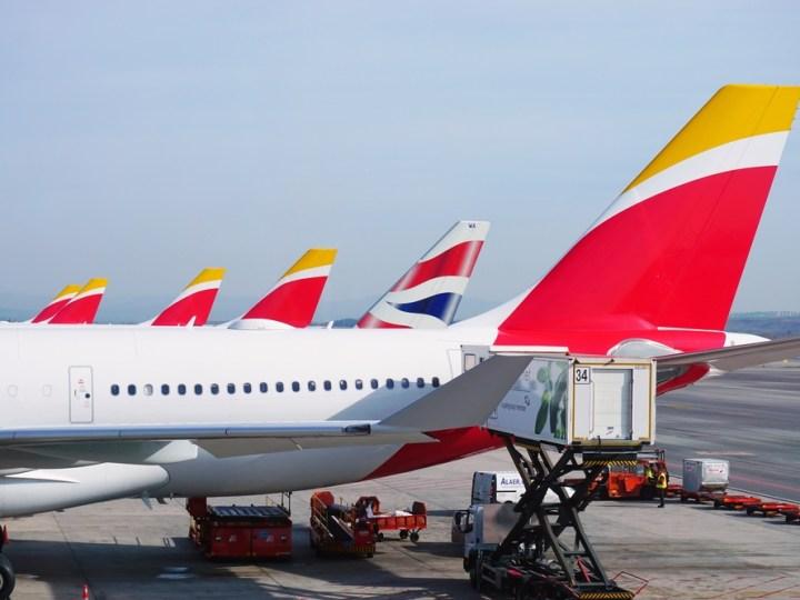 BA and Iberia planes on tarmac