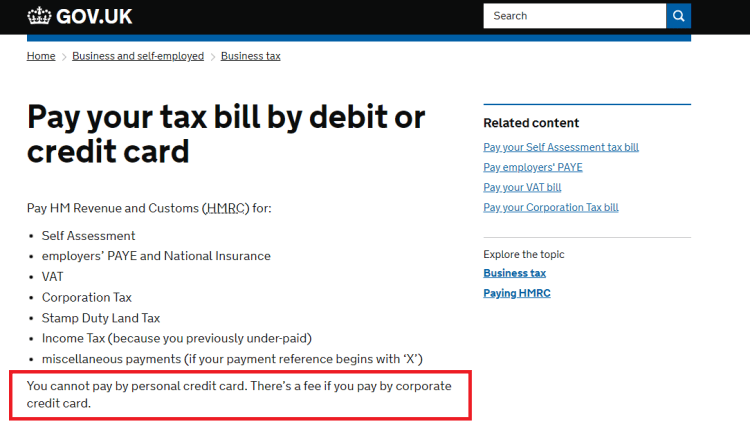 hmrc ban on personal cc.png