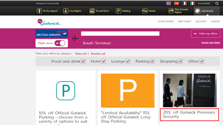 myGatwick Premium Security Offer 1.png