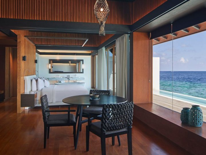 Westin Maldives Suite living room