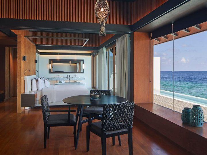 Westin Maldives Suite living room
