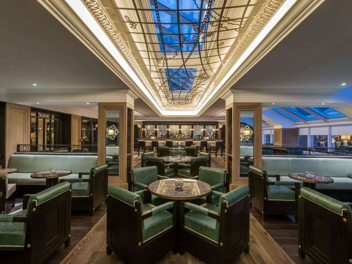 Lemuels Bar at the Waldorf Astoria Caledonian Edinburgh