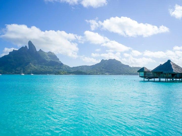 St. Regis Bora Bora main dock