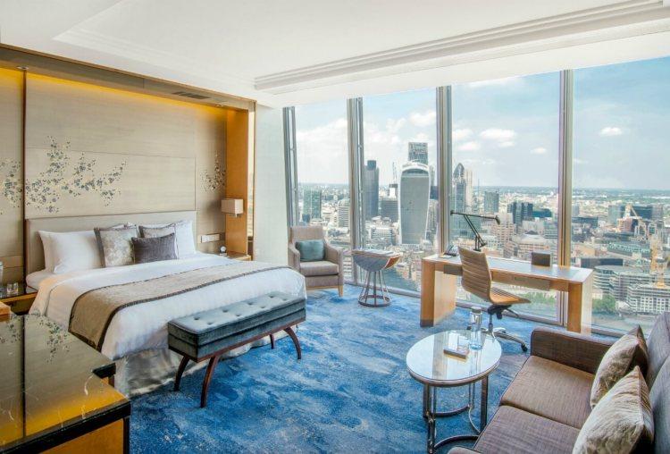 Shangri-La London Premier City View Room