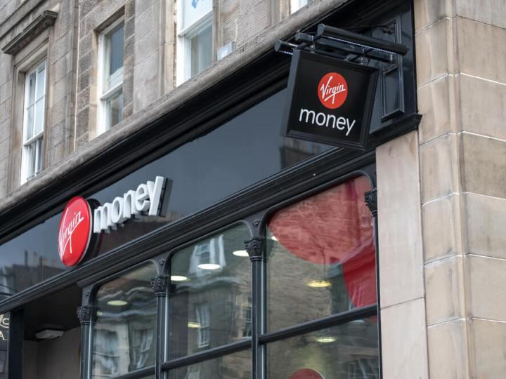Virgin Money branch Edinburgh