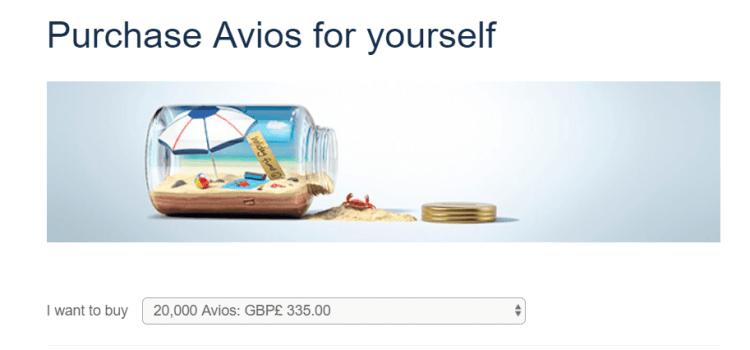 BA Amex Avios promo - June 19