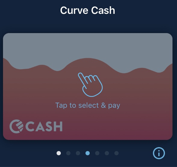 Curve Cash Card