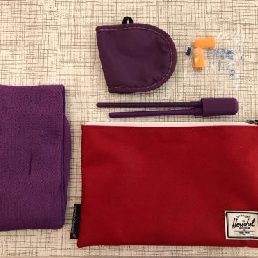 Virgin Atlantic PE amenity kit contents
