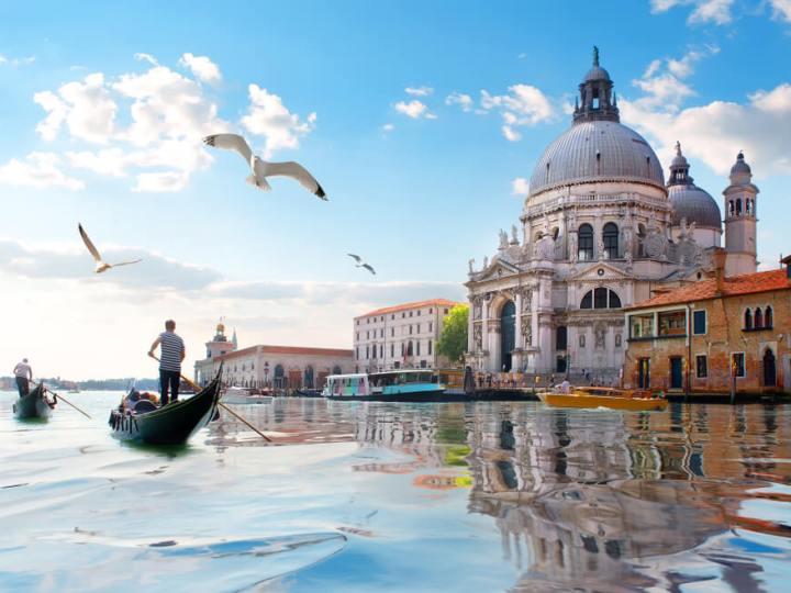 Cathedral of Santa Maria della Salute Venice, Italy