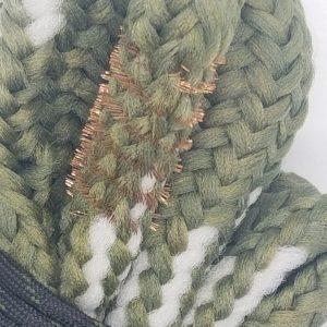 Bore Snake Brass Bristles