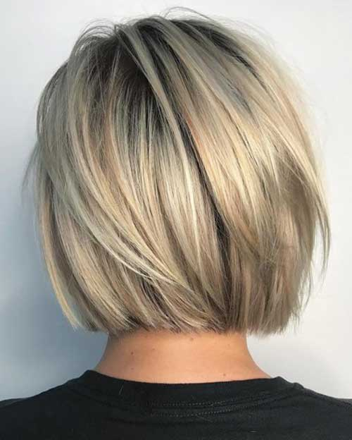 Straight haircuts for medium length hair 2021