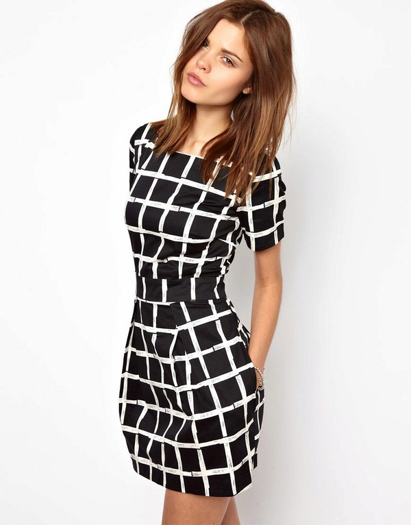 Office dresses design 2020 with prints