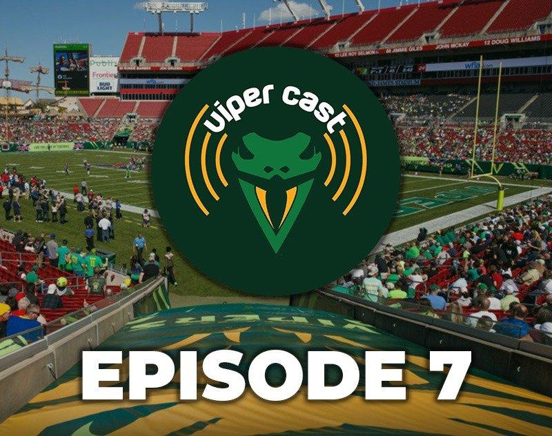 Viper Cast - Episode 7   XFL Podcast   Tampa Bay Vipers
