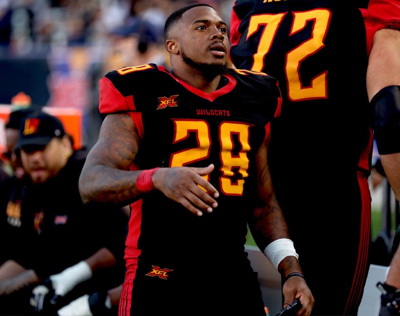 Former Wildcats RB Martez Carter Signs with IFL's Massachusetts Pirates