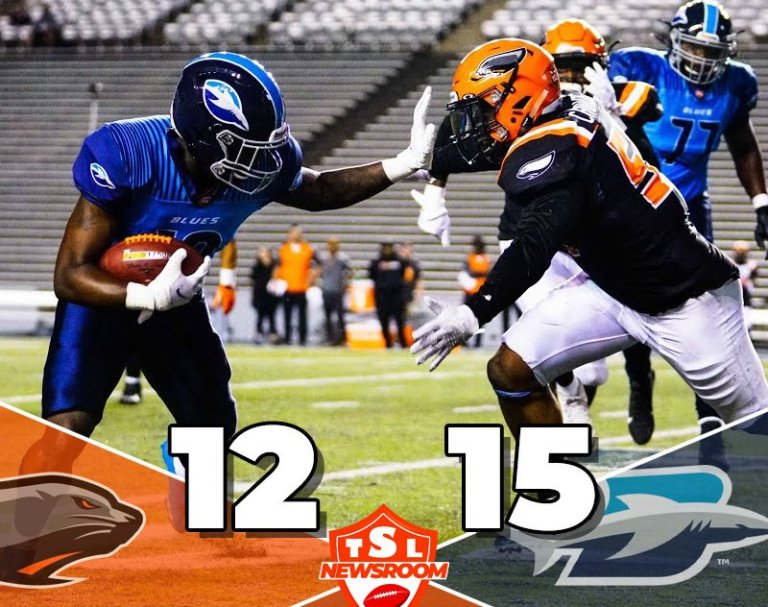 The Blues Edge Out Sea Lions 15-12 in Week 1 TSL Matchup