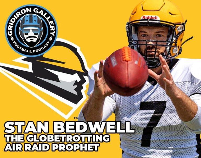 Stan Bedwell - The Globetrotting Air Raid Prophet   Gridiron Gallery