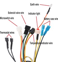 dc 3v ic control flue type double igniting cord pulse igniter [ 1200 x 1200 Pixel ]