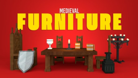 Medieval Furniture by Shapescape Minecraft Marketplace