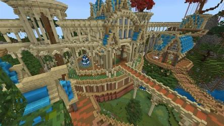 Northern Elvan City in Minecraft Marketplace Minecraft