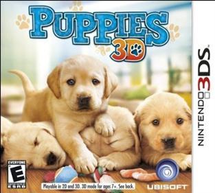 Portada-Descargar-Roms-3DS-Mega-Puppies-3D-USA-3DS-Multi-Espanol-Gateway3ds-Sky3ds-CIA-Emunad-xgamersx.com