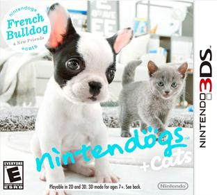 Portada-descargar-Rom-3DS-Mega-Nintendogs-Plus-Cats-French-Bulldog-and-New-Friends-EUR-3DS-Multi6-Espano-gateway3ds-sky3ds-CIA-emunad-xgamersx.com