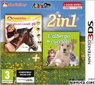 portada-descargar-rom-3DS-Mega-2in1-Life-With-Horses-3D-And-My-Baby-Pet-Hotel-3D-EUR-3DS-Multi6-Espanol-Gateway3ds-Mega-Sky3ds-Emunad-xgamersx.com