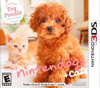 Portada-Descargar-Rom-Nintendogs-Cats-Toy-Poodle-New-Friends-EUR-Gateway3ds-Emunad-Sky3ds-Emunad-Mega-3DS-Multi-Espanol-xgamersx.com