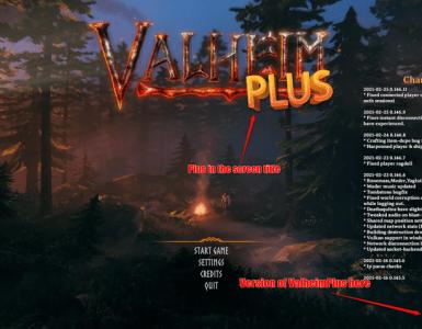 Valheim Plus