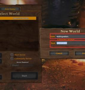 Valheim world seed