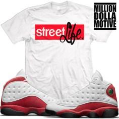 jordan-13-chicago-cherry-match-sneaker-tees-shirts