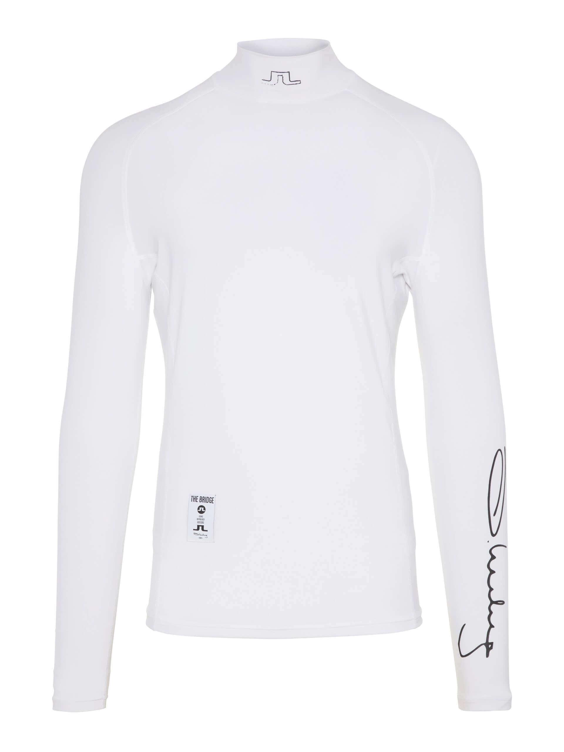J.Lindeberg - El Soft Compression top in white
