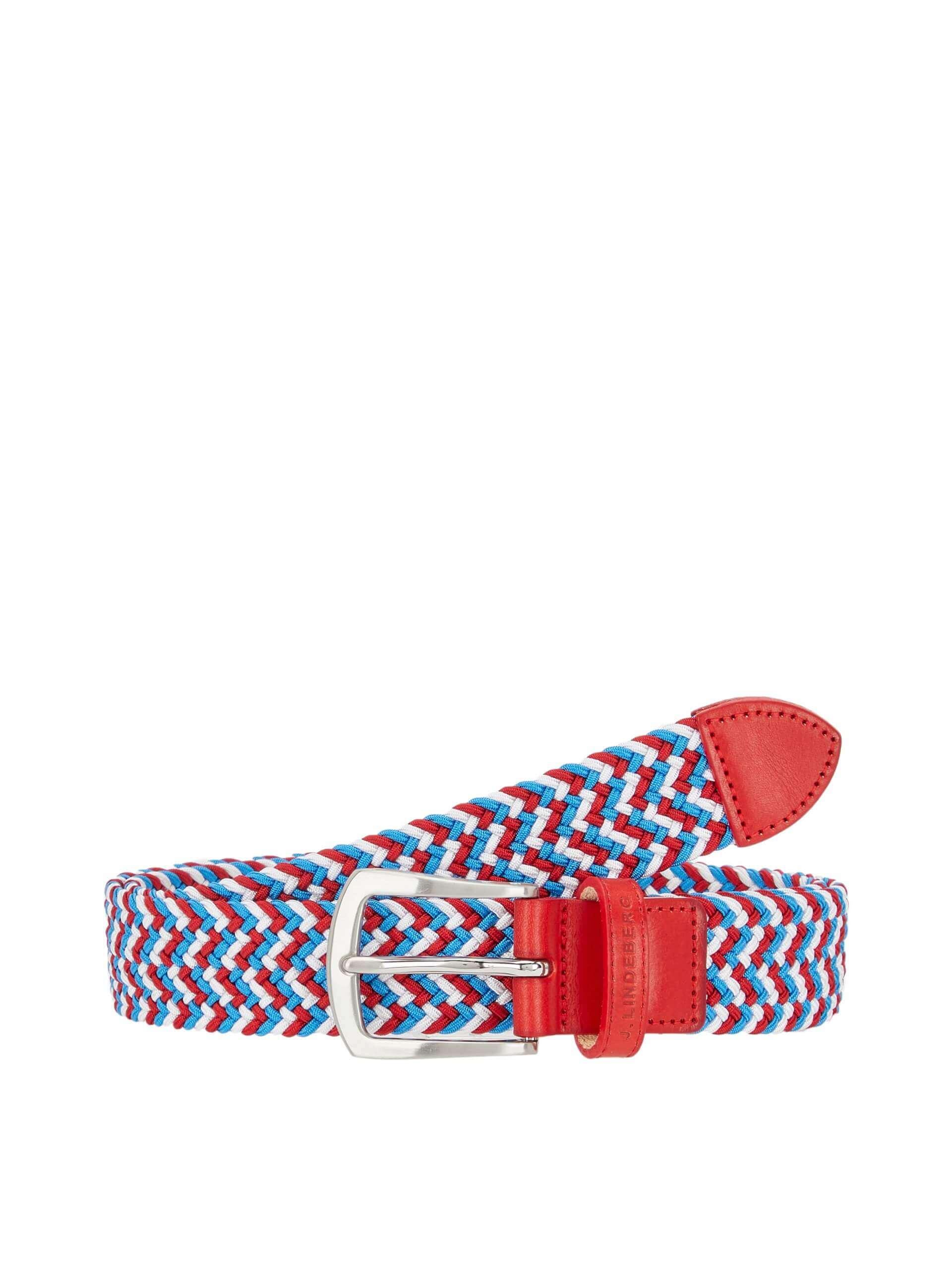 J.Lindeberg - Hatcher Belt in red