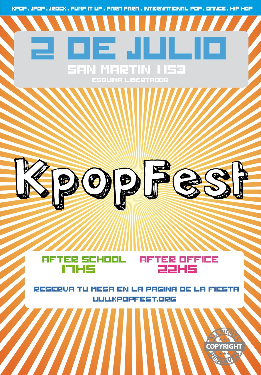 Kpop Fest after office