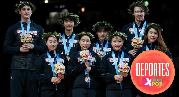 World Team Trophy: Una nueva victoria para el patinaje japonés y el retiro de Murakami