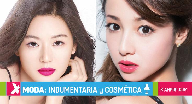 Diferencias entre los estilos de maquillaje de Corea y de Japón