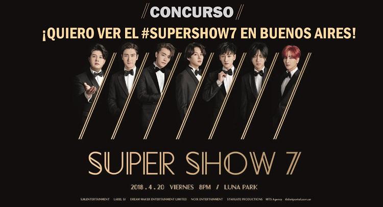 [#Concurso] ¡Quiero ver el #SUPERSHOW7 de Super Junior en Buenos Aires!