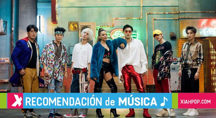 [Kpop]Canciones con frases o palabras en español.